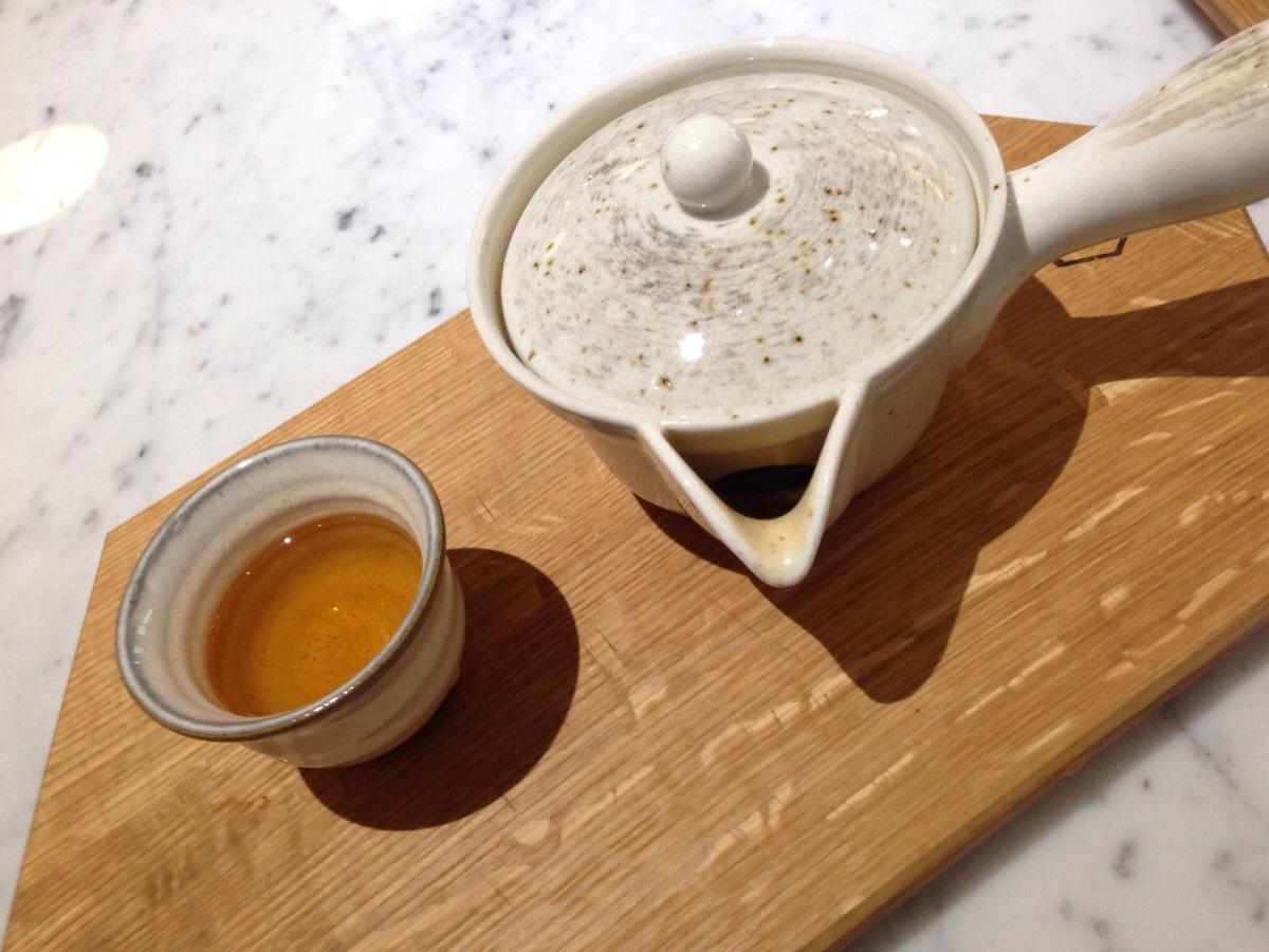 Hojicha Tea @ Small Victory