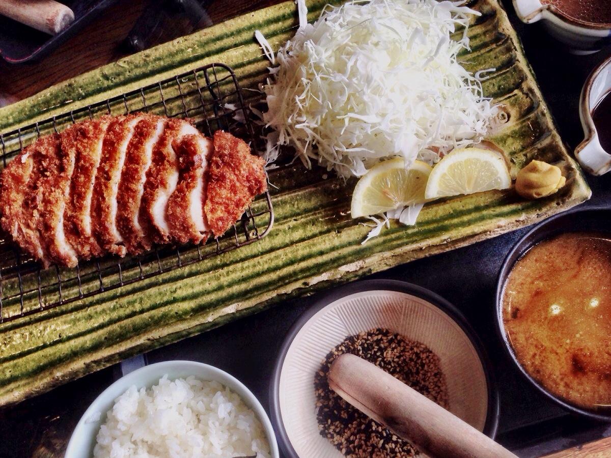 Tonkatsu (Pork Cutlet) Lunch Combo @ Kingyo