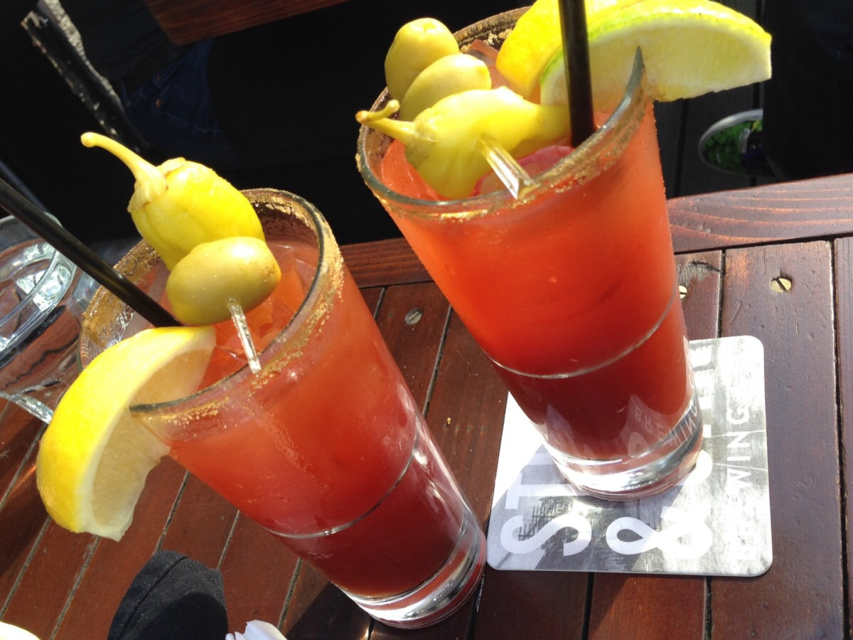 double bloody caesar @ the five points