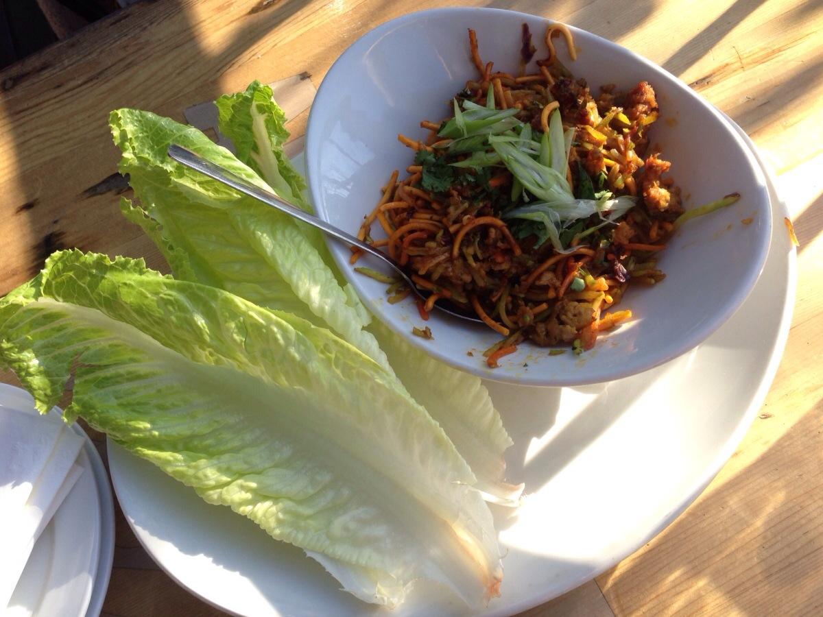 Lettuce Wrap @  Falconetti's