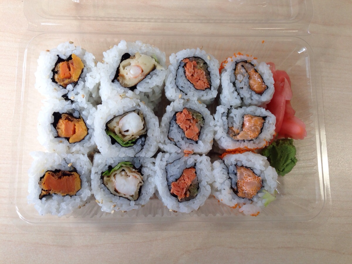 Special Roll Combo @ Sushi Tei