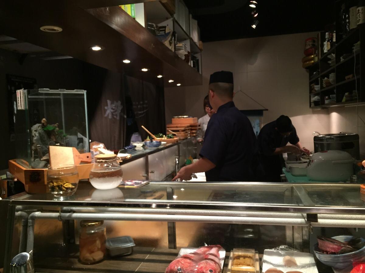 ketsu sushi, tin hau, hong kong