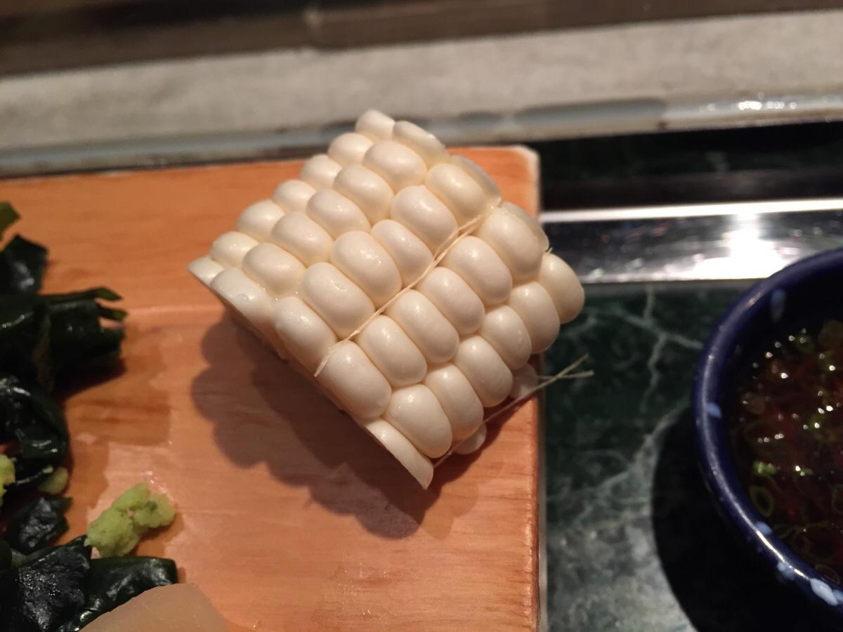sweet white corn from hokkaido
