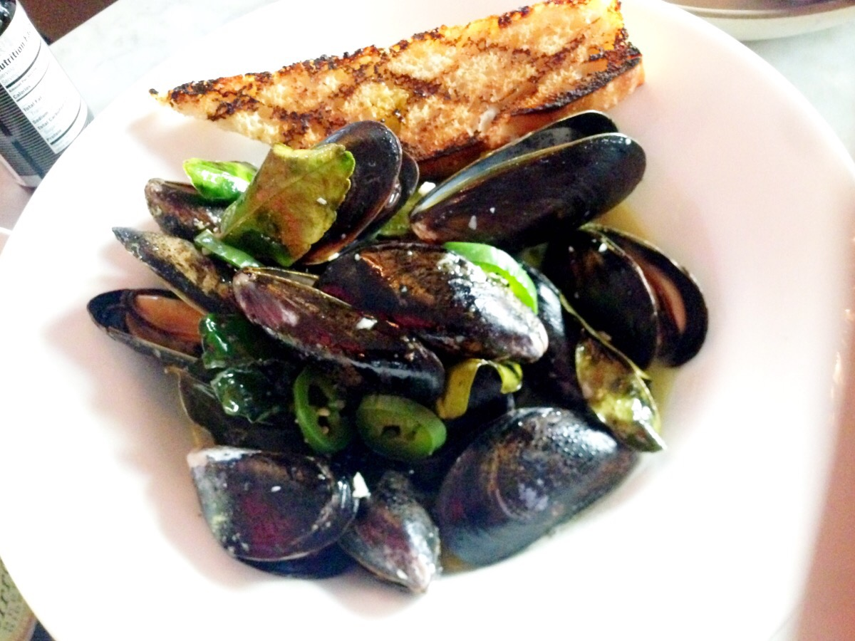 mussels   @  uva wine bar