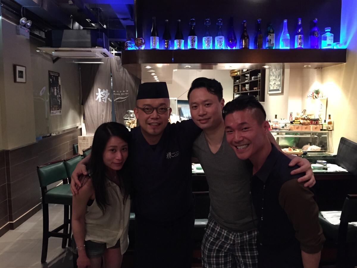 tony the chef @ ketsu sushi