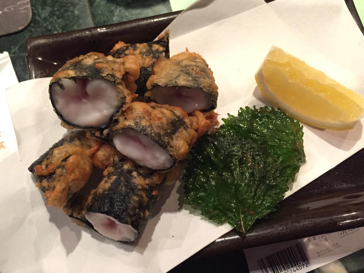 shirago tempura