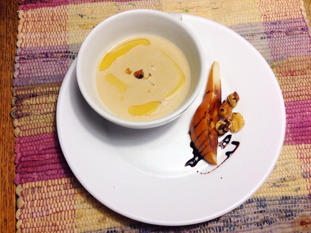 Cream of Walnut Soup