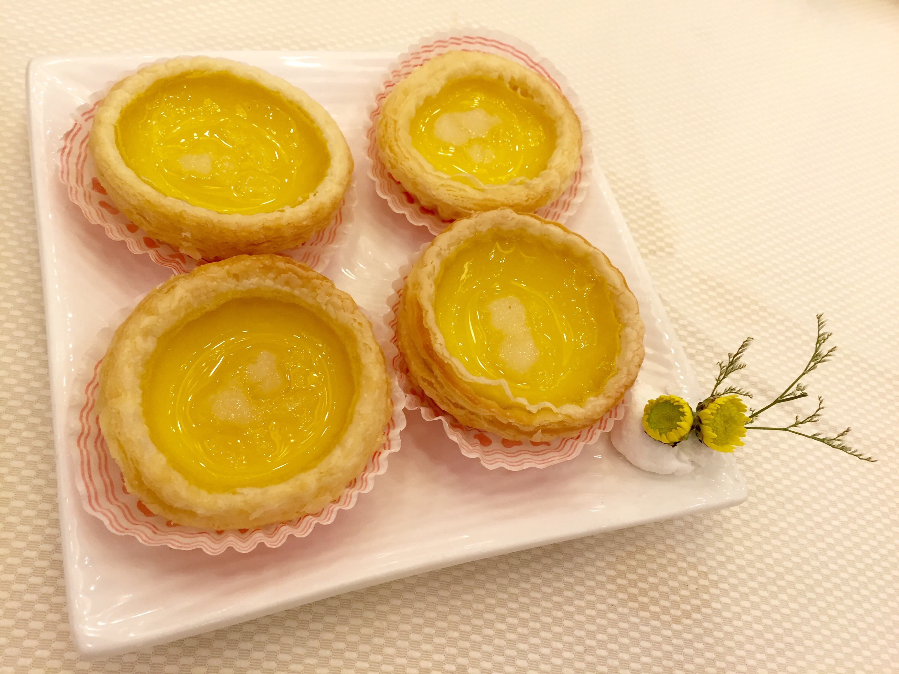 Snow Frog Egg Tarts