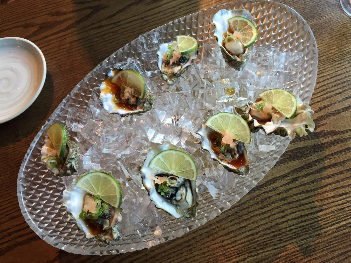 Oysters on the Half Shell @ Sushimoto