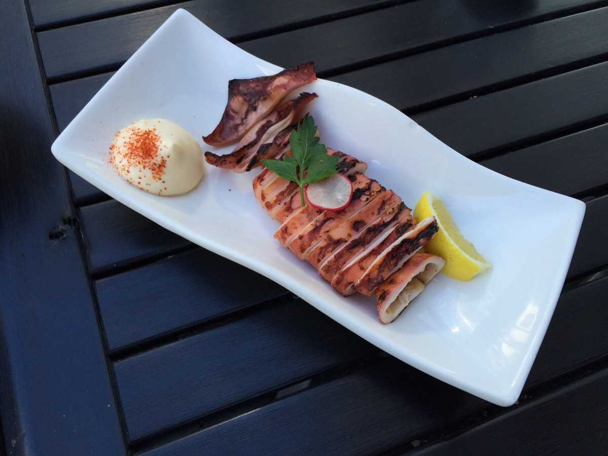 IKA (grilled squid)