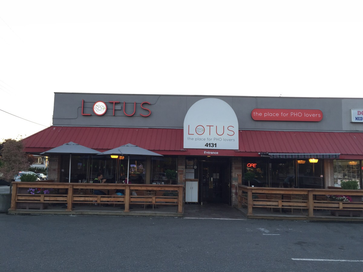 lotus, the place for pho lovers