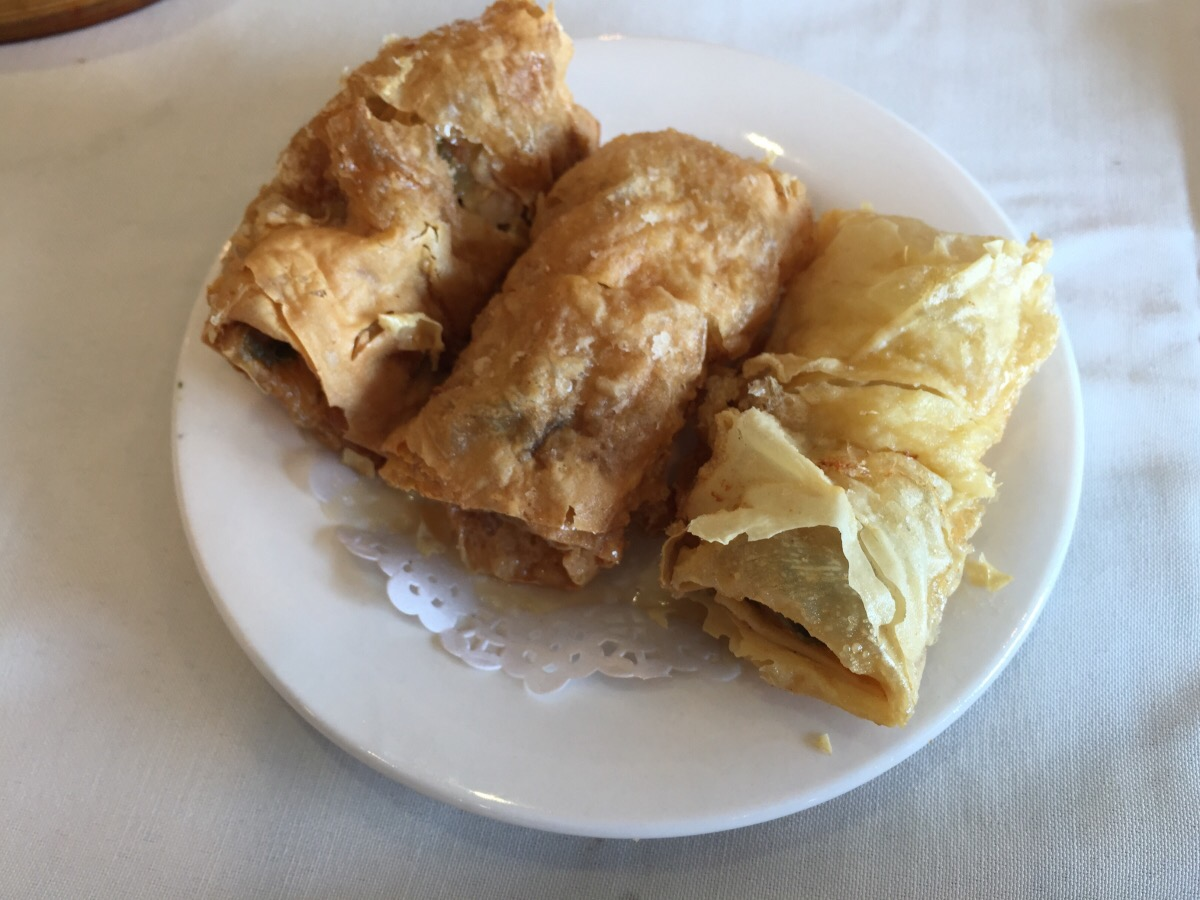 bean curd rolls with shrimp