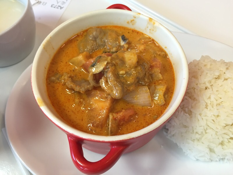 Red Curry Beef with Rice
