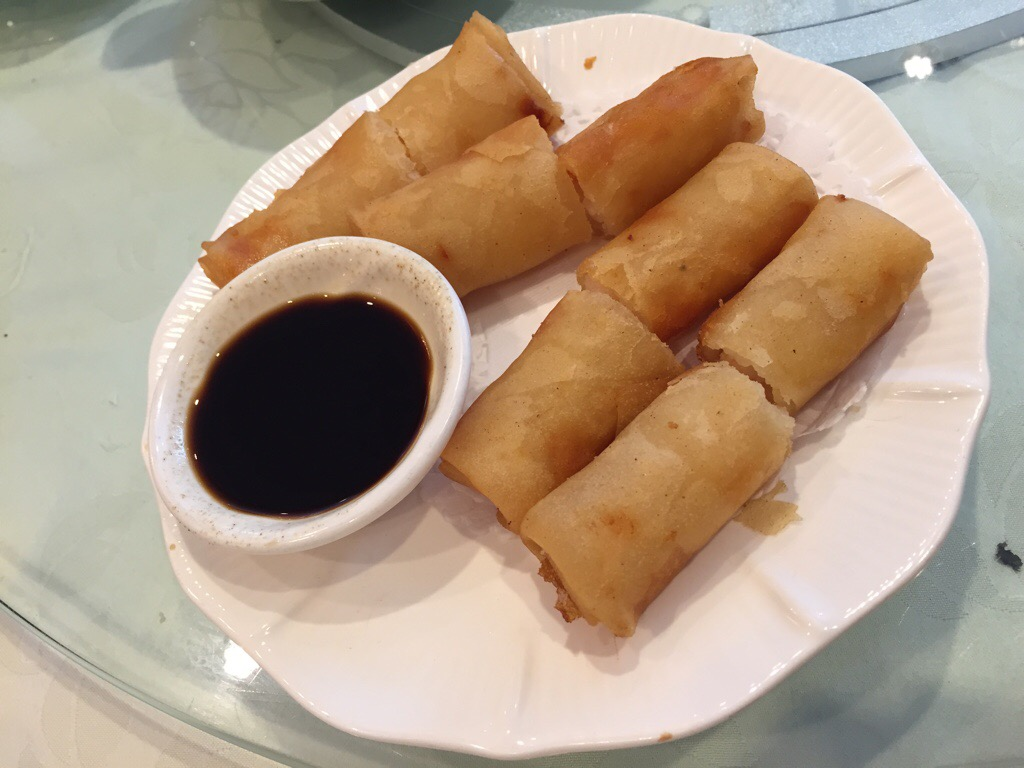 shrimp spring roll