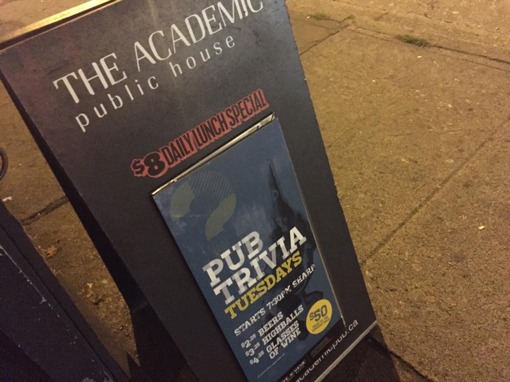 the academic public house