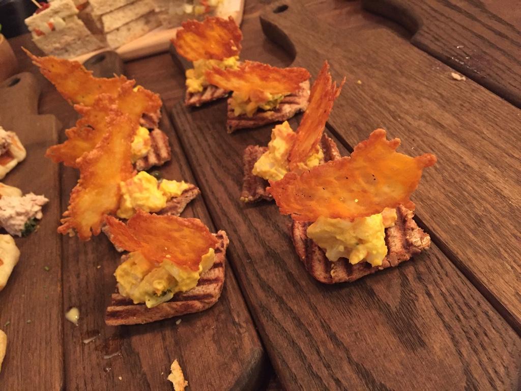 parmesan flat bread appetizer