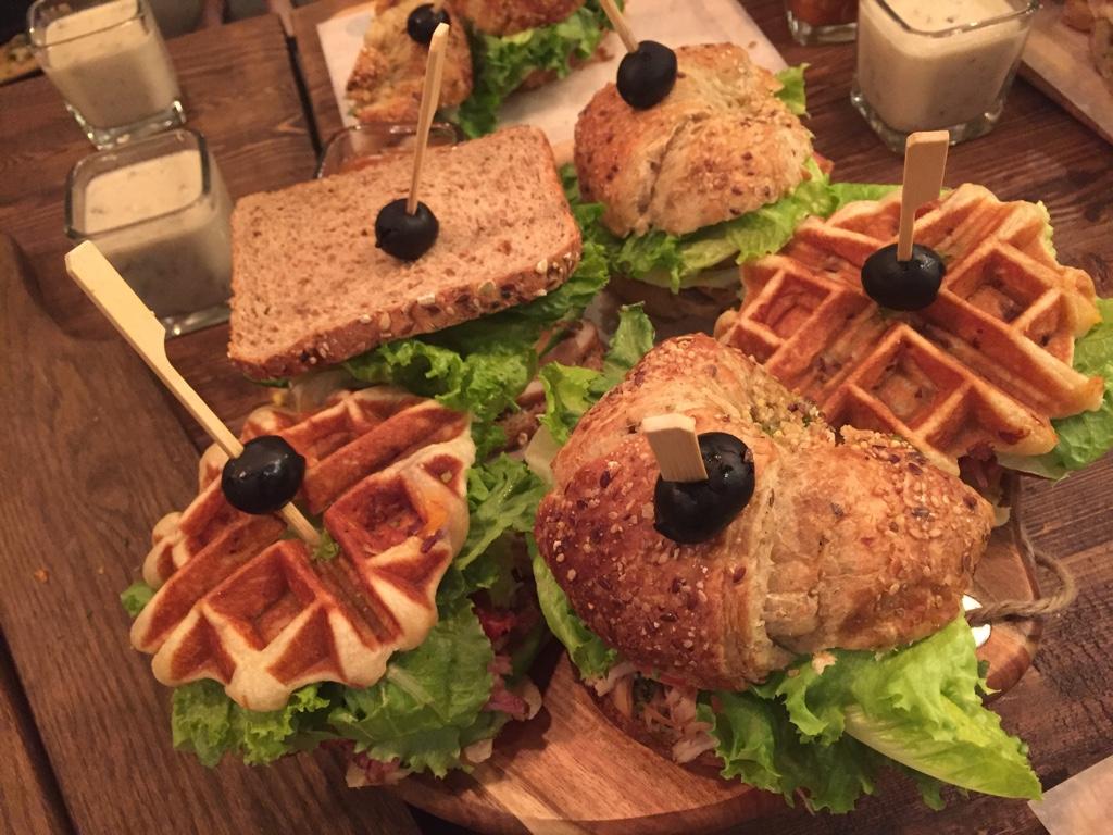 sandwiches at fondway