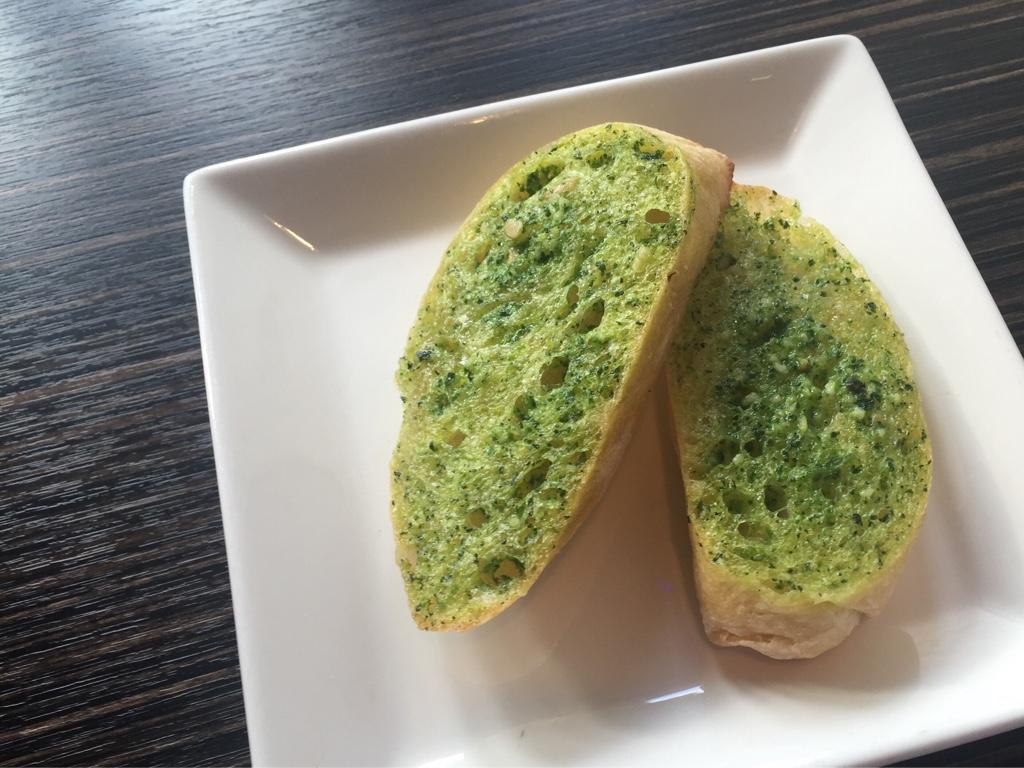 Pesto Garlic Bread