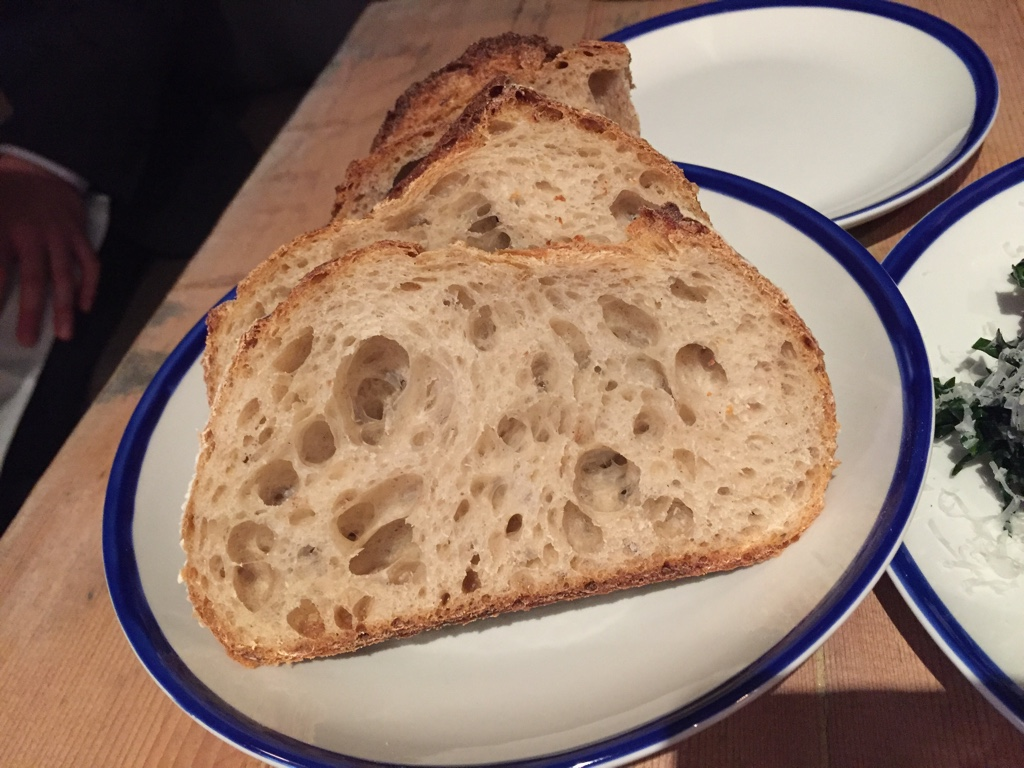 house made bread