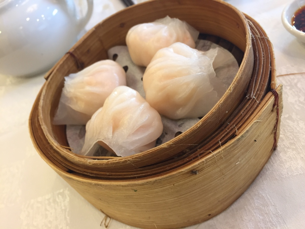 shrimp dumplings