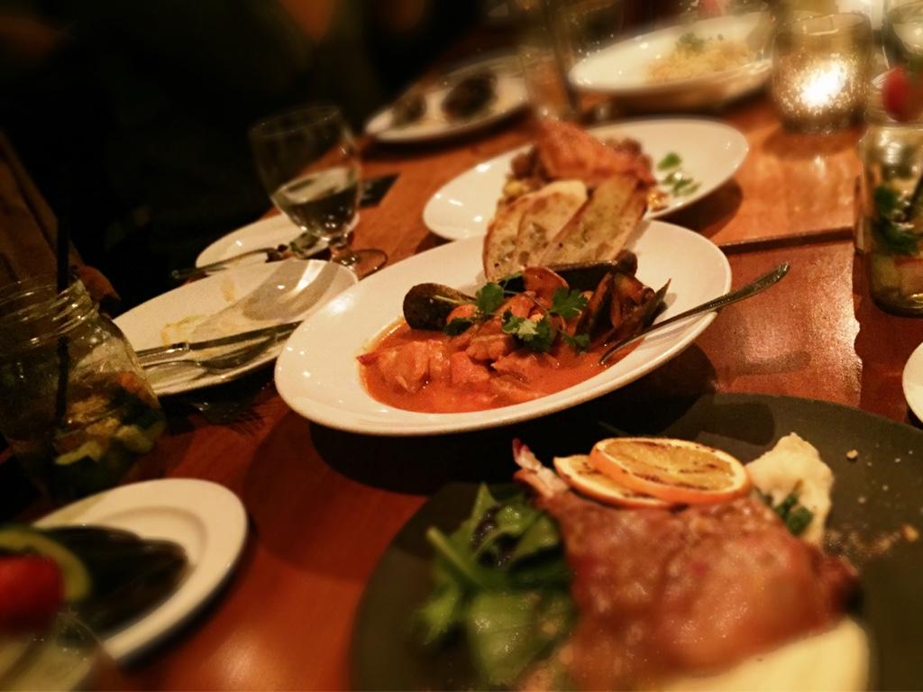 dinner meet-up at Shaughnessy