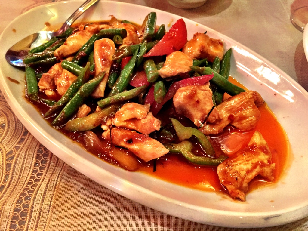 pad prig khing chicken