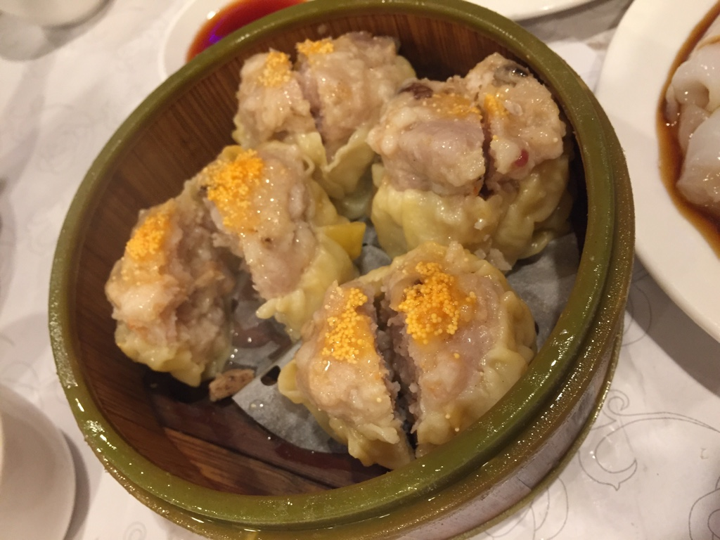 pork dumplings (siu mai)