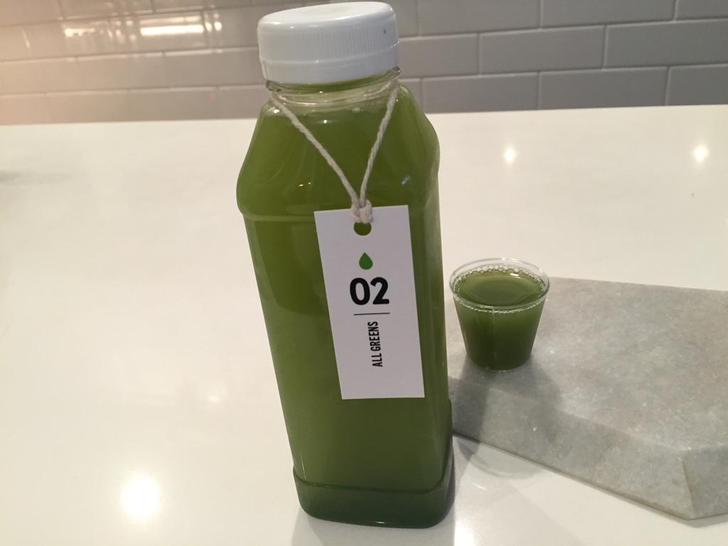 All Greens - Kale, Cucumber, Romaine, Celery, Parsley, Lime, Lemon, Ginger