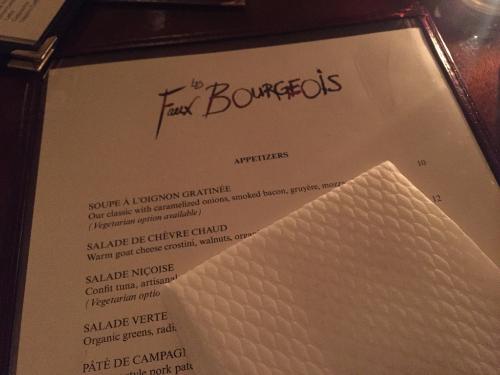 Les Faux Bourgeois