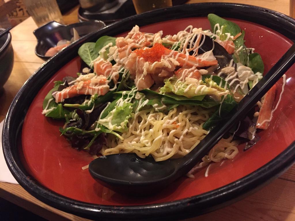 Seafood Salad Ramen