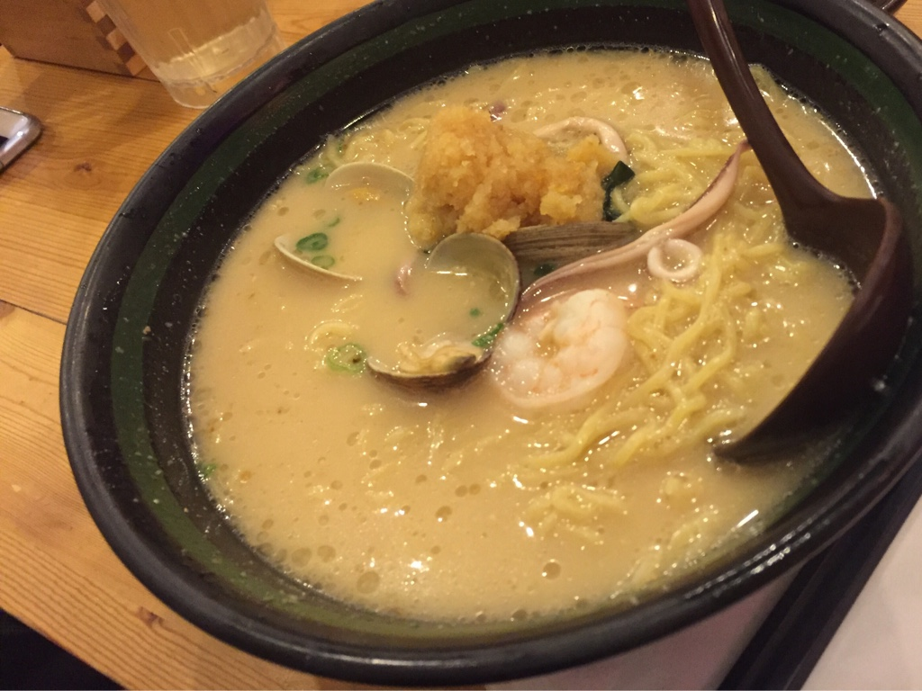 Clam Miso Butter Corn Ramen