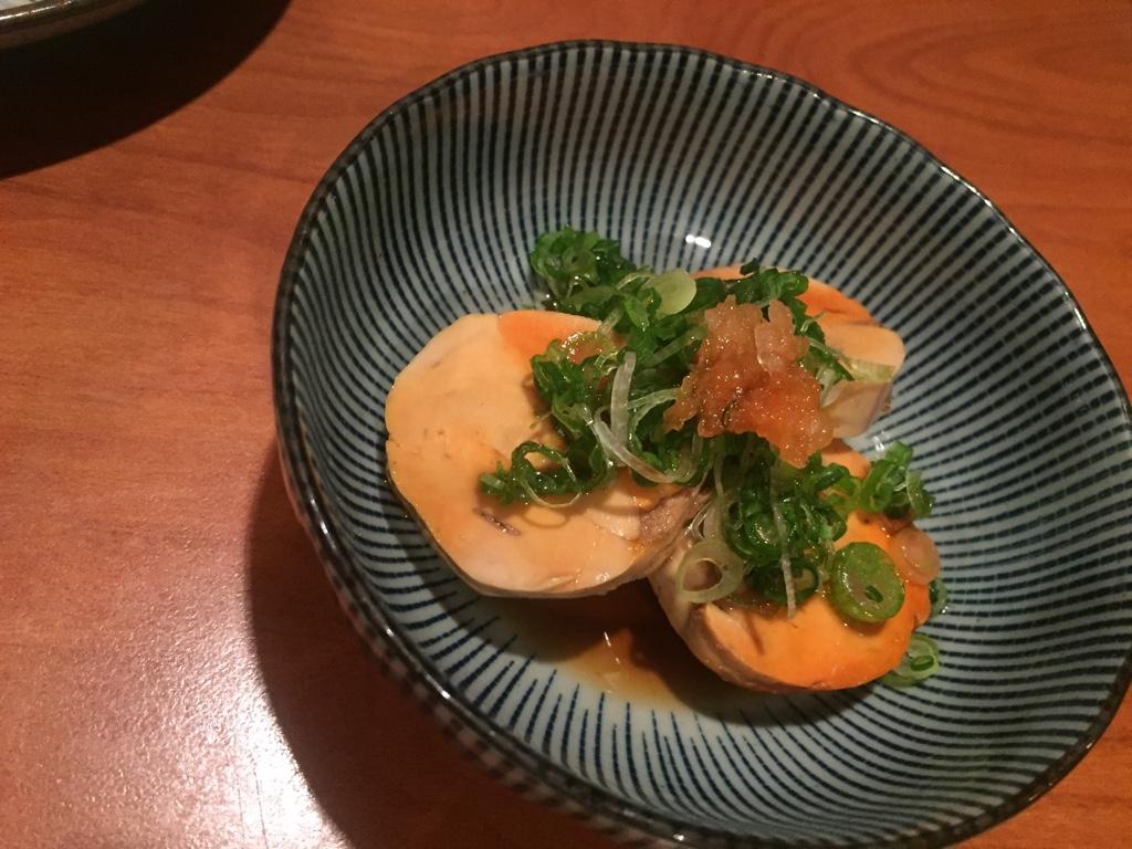 akimo (monk fish liver)