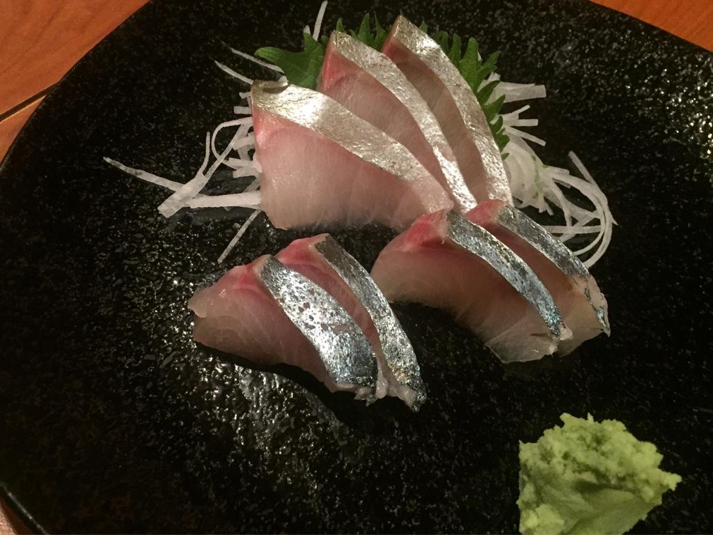 shima-aji sashimi