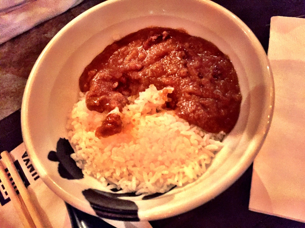 tokyo curry rice