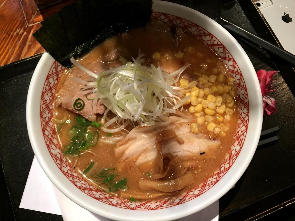 Extra BBQ Pork Miso Ramen