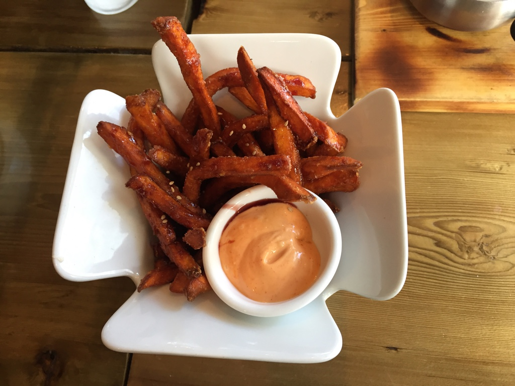 Matang (sweet potato fries)