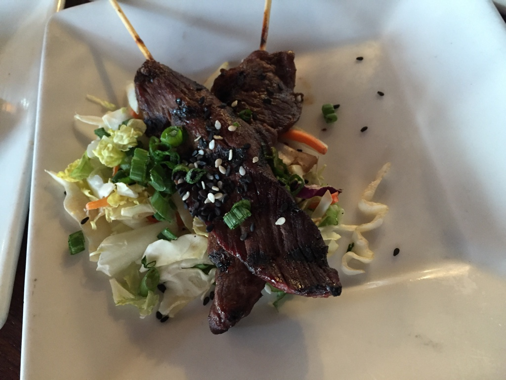 Wagyu Teriyaki Skewers