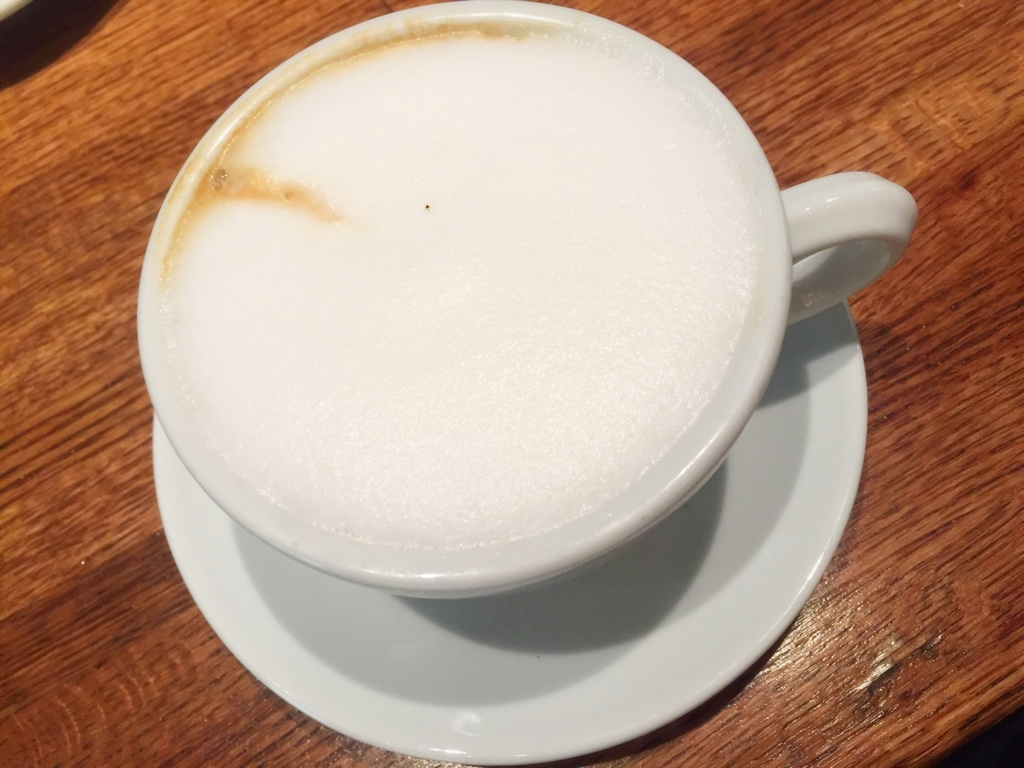 Cappucino @ Truffles Fine Foods Cafe
