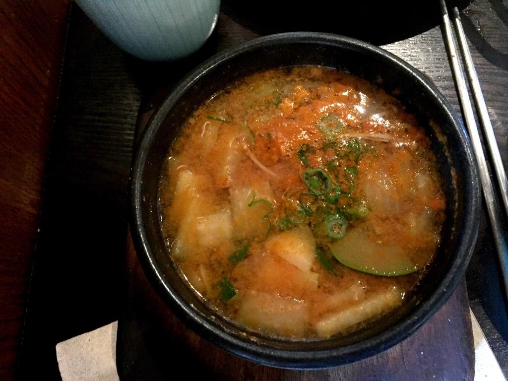 Doenjang Jjigae (Spicy Seafood Stew)