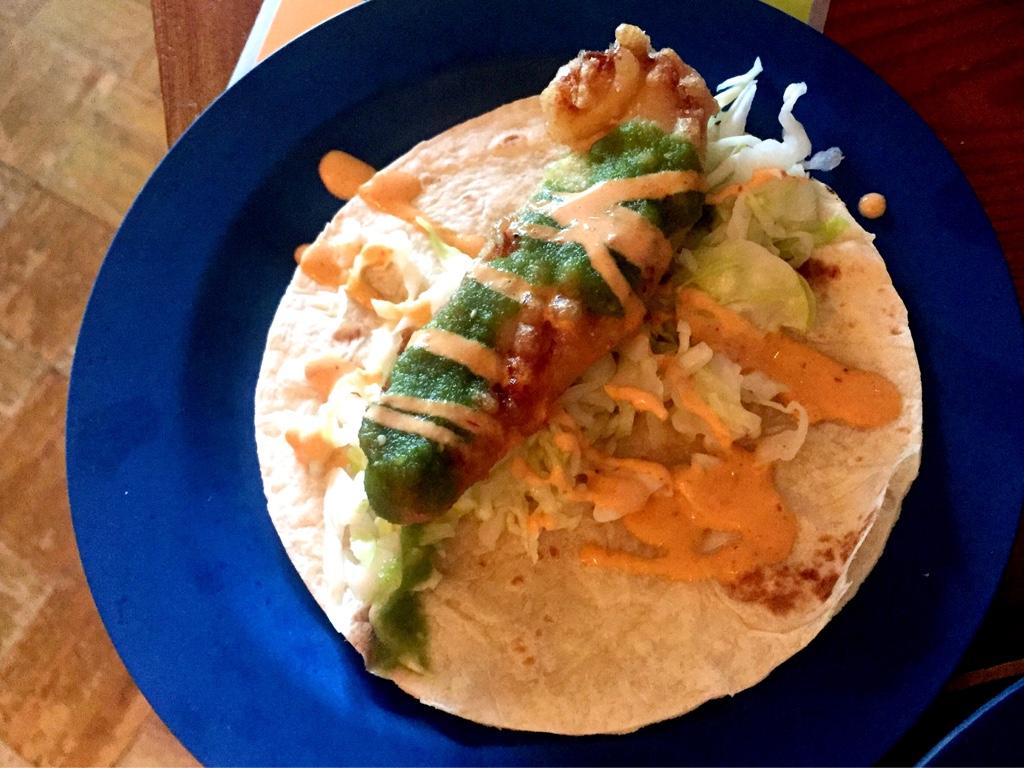 PESCADON (Fish Taco)