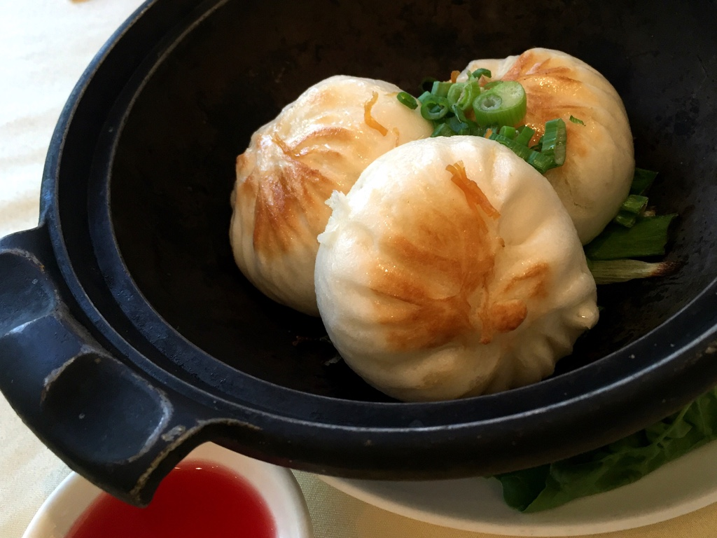 Pan Fried Dry Scallop Buns
