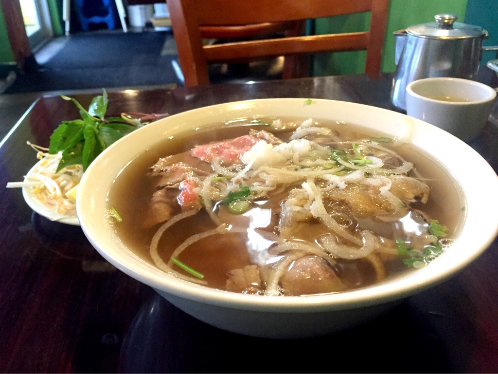 """Everything"" Beef Pho"