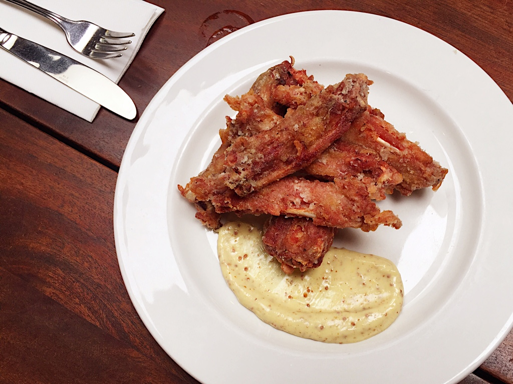 Manchons de Canards Frits ( Fried Duck Wings)