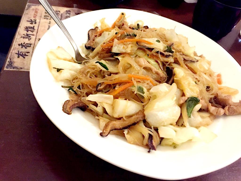 Taiwanese Style Vermicelli Stirfry