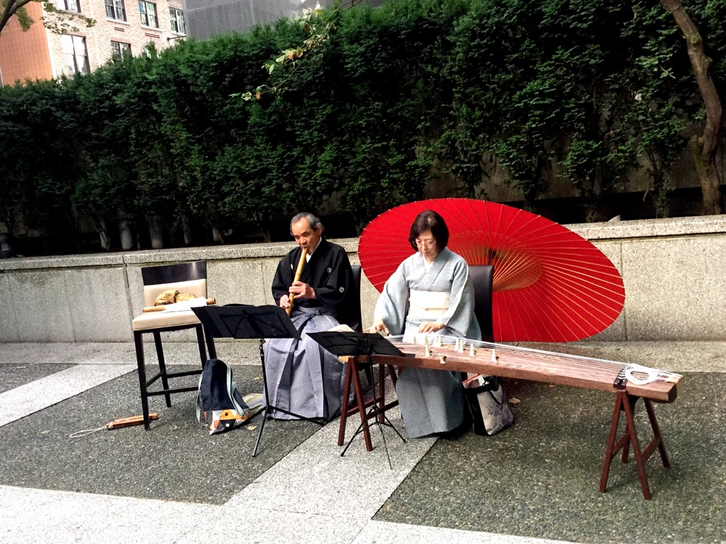 Koto and Shakuhachi Performance