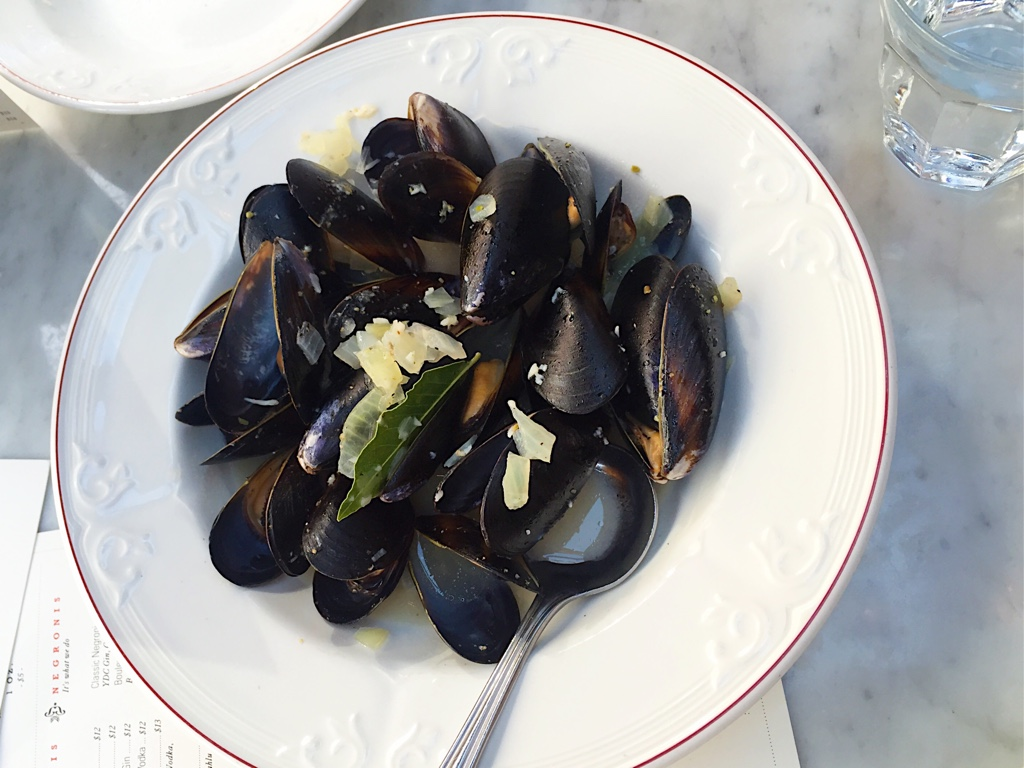 Fresh Saltspring Island mussels