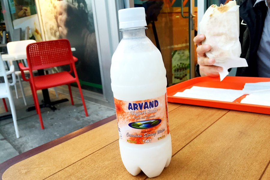 Yogurt Soda @ Donair Town on Robson