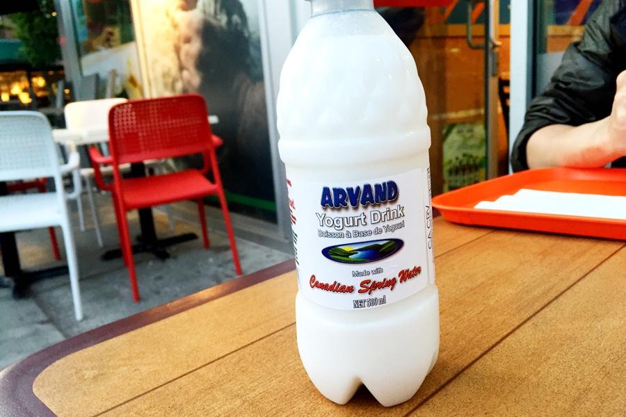 Yogurt Drink @ Donair Town on Robson