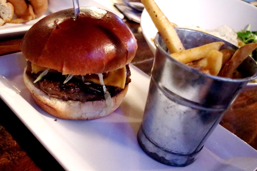 The Bacon & Cheese Burger