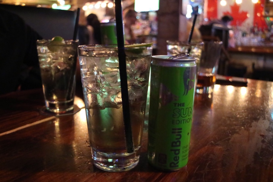 Summer Red Bull & Vodka